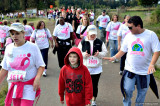 Komen Race For The Cure - My Daughter and Grandson In Front
