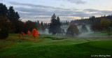 Morning Comes to Laurelwood Golf Course