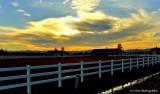 Sunset Over West Eugene Ranch