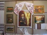 ...also serves as a folk art gallery...