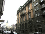 a rainy day in downtown Lviv...