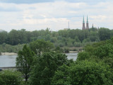 ...overlooking the Vistula