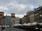 on the old town rynek...
