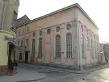 a surviving synagogue building, now the Sholem Aleichem cultural center