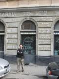 Alex F. on Tyktora street...
