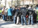 chess playing on prospekt Svobody
