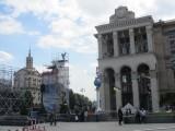 walking around the big square
