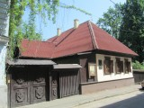 it's museum day: at the Taras Shevchenko house museum...