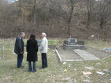 at the northern Shoah memorial, for victims of the 1943 ghetto liquidation