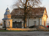 a lovely old house in the new town area southwest of the main square