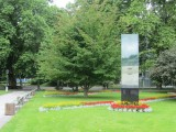 a WW2 memorial