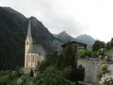 entering the village of Heiligenblut (Holy Blood)...