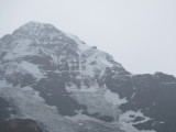 taking a different route down via Grindelwald, Eiger comes into view