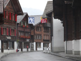 an old part of the town of Brienz