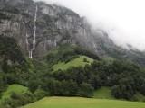 back up in Lauterbrunnen