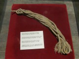 this is the rope that cost four lives in the first successful ascent of the Matterhorn (1865)