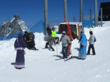 and others having fun near the lift station
