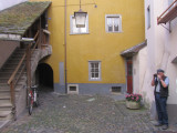 some parts of the town are very well-preserved