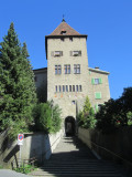 the gate tower to the Episcopal courtyard