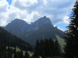 into the Val di Fassa