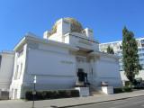 here's the Secession building, a landmark of Viennese Jugendstil artists