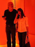 ...while Jay and Marla are immersed in a sound room
