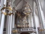 still at the Hofburg, we stop in the Augustine church to listen to organ practice...