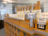 but the focus in the museum is on Otto Wagner and the building he created