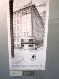 there are also original designs for other Wagner buildings in Vienna...