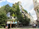 ...home to the Hundertwasserhaus