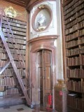 it's an 18th-c. library building with 200,000 books from 1501 to 1850...