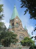 Sofia kyrka, on the east end of Södermalm