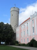 Pikk Herman tower in the Toompea castle