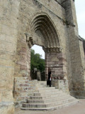 it was a Cistercian monastery; the church was completed in the 12th-c.