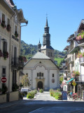 the historic spa town of Saint-Gervais-les-Bains