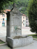 old fountain in Cluses