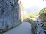 Roman road cut into the rock near Dingy-Saint-Clair