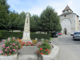 church and historic cemetery in Contamine-sur-Arve