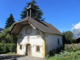baroque chapel in the hamlet of Les Plans, above Saint-Gervais-les-Bains