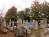 we visit the large Jewish cemetery on ridges above the city