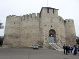our first stop is the 16th-c. Soroca Fortress...