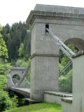 ...to visit an historic chain bridge