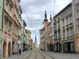 looking toward Republic square, it couldn't be much calmer