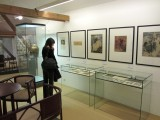 then a great collection of Czech and Austrian decorative arts