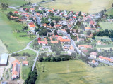 on the wall in the office, a good aerial view of Podolí I