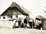 Věra had an interesting set of family photos; this is the farmhouse with her family from 1922