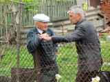 Mr. Vorobets is speaking with a man on Zelena today, guessing he may know of more stones