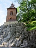 and the well-named Chapel on the Rock