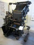 elsewhere the museum has an amazing collection of printing machines...