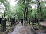 we pay another visit to the new Jewish cemetery...